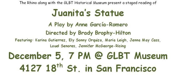 Juanita's Statue